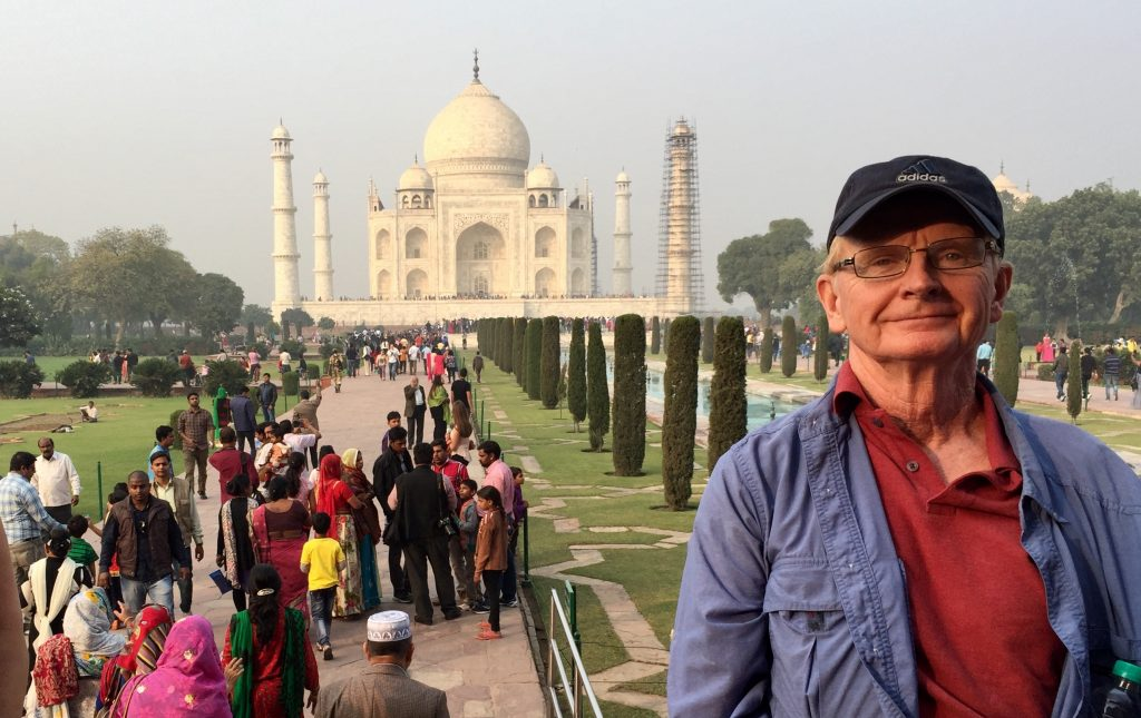 Thom at Taj Mahal India